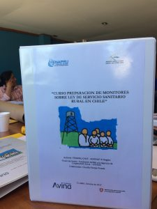 SCARP Alumni's Master's Project Used by Rural Drinking Water Committees in Chile
